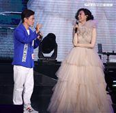 坣娜演唱會特別來賓吳宗憲。(記者邱榮吉/攝影)