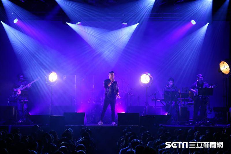 金曲歌王李玖哲Voice Up Concert讚聲演唱會。(圖/記者楊澍攝影)