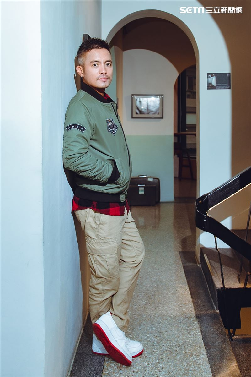 范逸臣三立新聞網專訪。(圖/記者楊澍攝影)