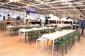 IKEA宜家家居内湖店美食區擁有430個座位。(記者邱榮吉/攝影)