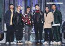 Leo王、剃刀蔣、ØZI、 J.Sheon、熊仔、大支錄台灣第一檔嘻哈選秀節目「大嘻哈時代」。(記者邱榮吉/攝影)