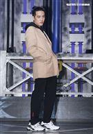 熊仔錄台灣第一檔嘻哈選秀節目「大嘻哈時代」。(記者邱榮吉/攝影)