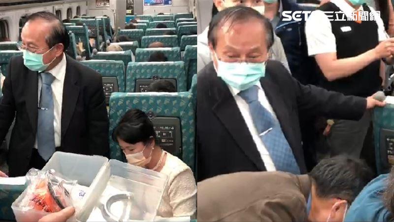 高鐵乘客突腹痛!救人醫是侯友宜哥哥