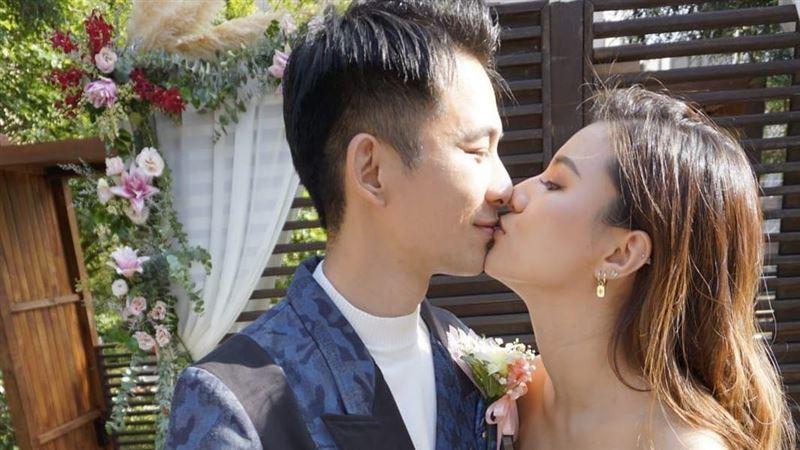 8點檔男星娶回香港嬌妻 婚禮全吃素