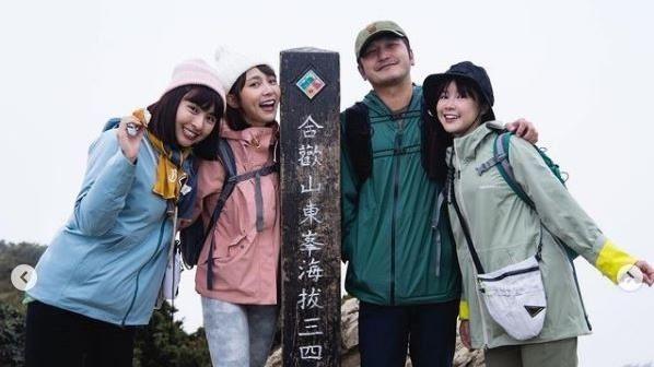 李佳穎3姊妹爬山!網要KID負責任