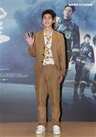 「火神的眼淚」演員胡釋安。(記者邱榮吉/攝影)