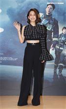 「火神的眼淚」演員陳庭妮。(記者邱榮吉/攝影)