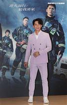 「火神的眼淚」演員溫昇豪。(記者邱榮吉/攝影)