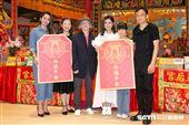 鄧志鴻、高宇蓁、赫容、吳以涵、Selina、陳以文出席電影《頭七》開鏡記者會。(圖/記者楊澍攝影)