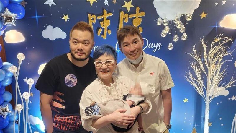陳鎮川團圓代孕兒子 張小燕當奶奶了