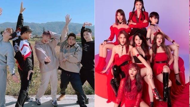 網友熱議的十大新聲代偶像團體