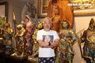 痛苦歌王孫情舉辦「孫情藝藏珍寶」展覽會。(記者邱榮吉/攝影)