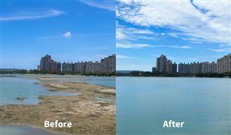 高雄人團結!澄清湖水位93%快滿了