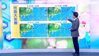下波梅雨週六報到 吳德榮:雨勢明顯