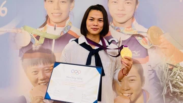 遲到了9年!許淑淨終於拿到敦奧金牌 成台灣雙金第一人