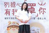 小甜甜張可昀出席腭裂罕病兒勇敢走秀公益活動。(圖/記者楊澍攝影)