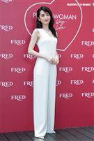 柯佳嬿、施柏宇出席FRED斐登PRETTY WOMAN珠寶展示會。(圖/記者楊澍攝影)