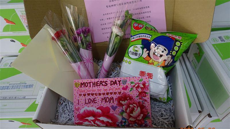 收容人母親節前寄康乃馨附「乖乖」 允諾母親:未來會乖乖