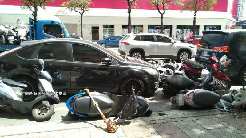 酒駕撞7機車釀5傷 駕駛態度差挨轟