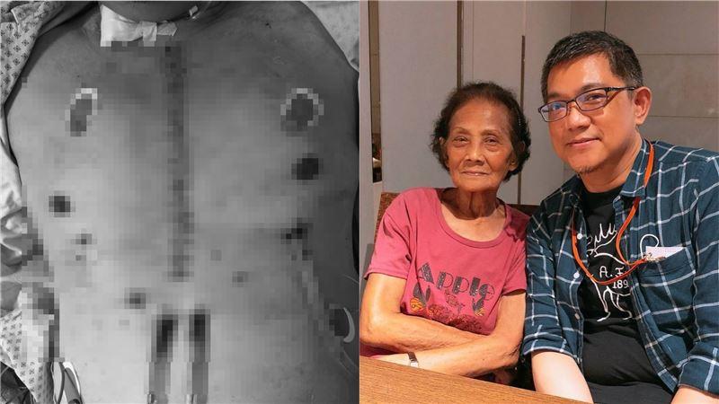 第二人生/男心臟梗塞因器捐重生 醒來與母和解她卻癌末逝