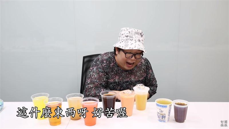 網紅喝這杯台灣飲料 秒作嘔吐掉飆罵