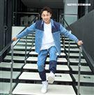 全明星顏佑庭三立新聞網專訪。(記這邱榮吉/攝影)