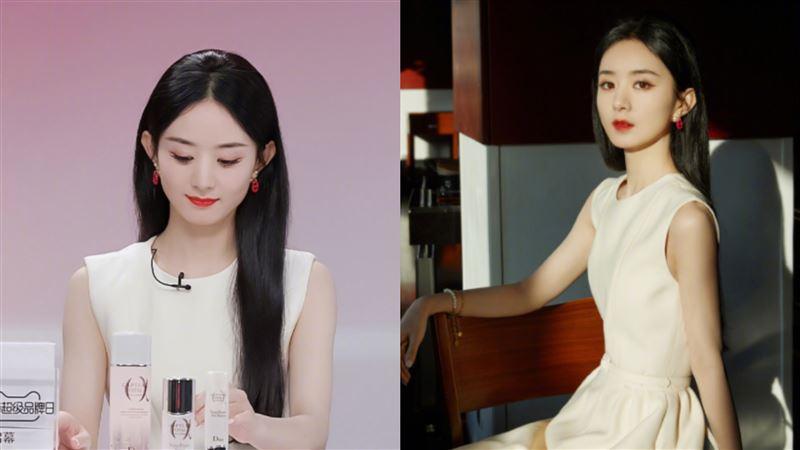 趙麗穎離婚後直播 粉絲驚:瘦成薄片
