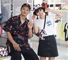 LEO王、峮峮出席運動品牌。(記者邱榮吉/攝影)