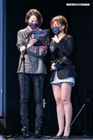 第32屆金曲獎搶先公佈入圍名單,楊乃文擔任揭獎嘉賓。(圖/記者楊澍攝影)