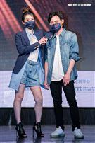 第32屆金曲獎搶先公佈入圍名單,Chick en Chicks擔任揭獎嘉賓。(圖/記者楊澍攝影)