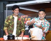 李玖哲、姚元浩全新一季改版「就是這味-玖浩吃」。(記者邱榮吉/攝影)