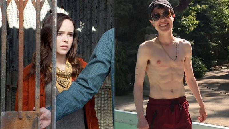 女星割乳房成男兒身 半裸爽秀6塊肌
