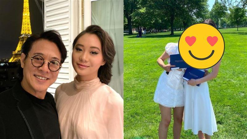 李連杰小女兒畢業了 火辣美照曝光