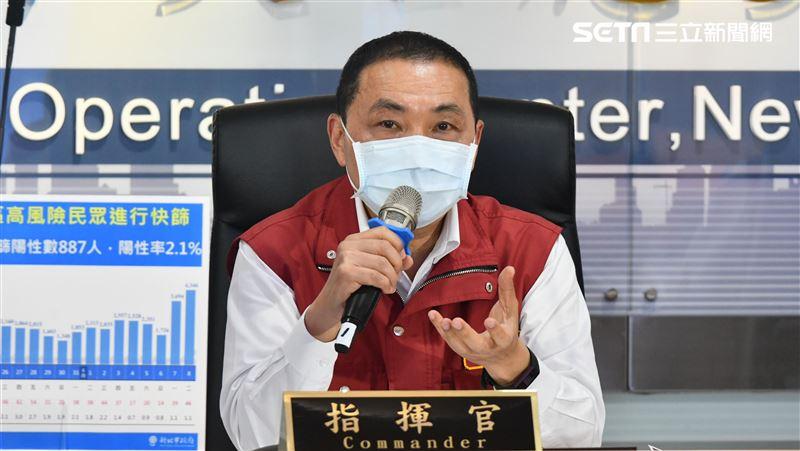 侯友宜:染疫死每人10萬慰問金
