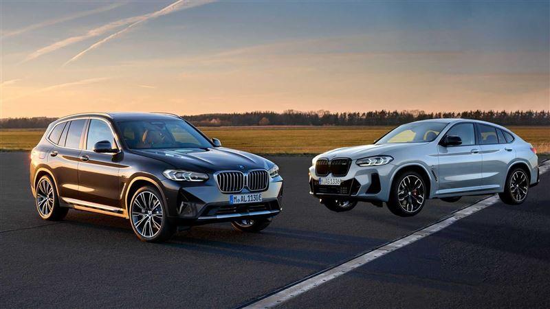 全車系導入48V輕油電 BMW X3/X4小改款亮相