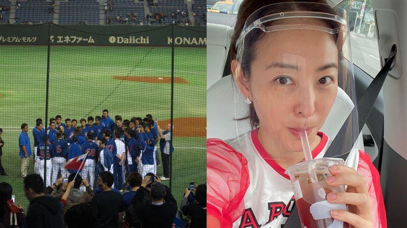賈永婕8年前挺台灣隊 帶頭力喊加油