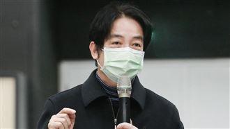 中共出手迫香港 賴清德:大家要頂住