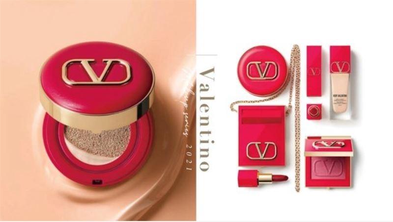 Valentino同名彩妝系列美炸