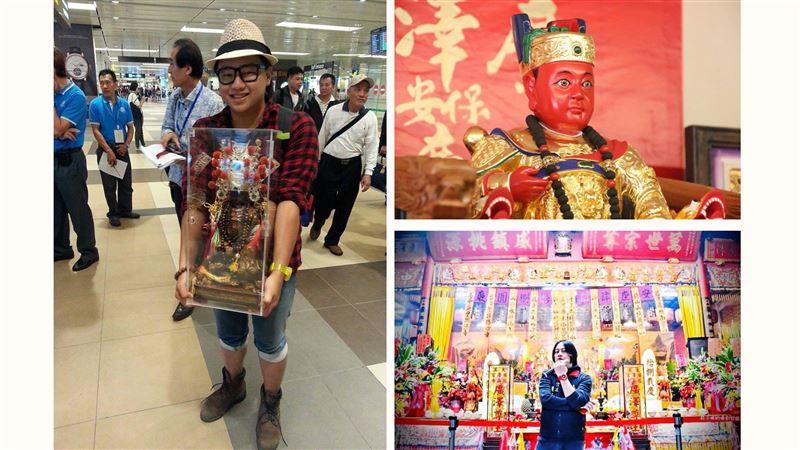 冠軍歌手 竟是廣澤尊王的乾兒子!