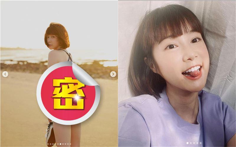 十張美尻全放送 李佳穎泳裝裸背辣爆