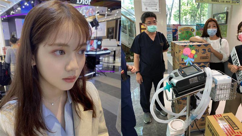 王彩樺愛女也認捐!2救命神器送高雄