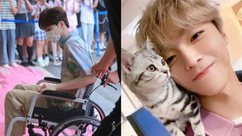 被賈永婕問他是誰 男星爆跛腳坐輪椅