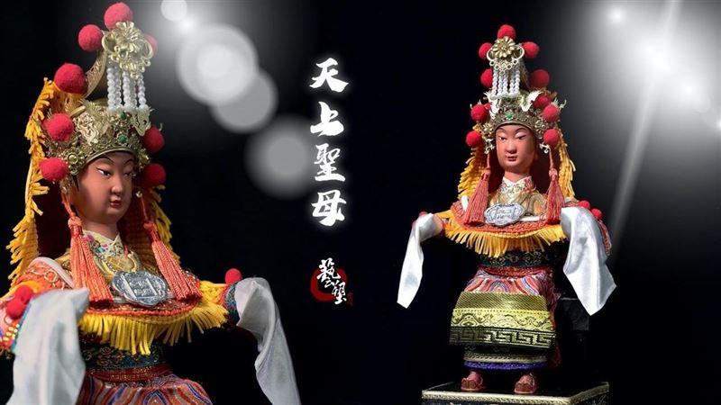 泥塑創作家楊肅偉 廟會模型塑成藝術