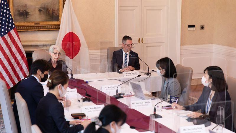 對中國懷戒心 美國副國務卿:台美將「加強政經關係」
