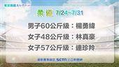 東京奧運 柔道 中華隊選手:楊勇緯、林真豪、連珍羚