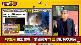 美8月軍演大片!愛3+標6試射!