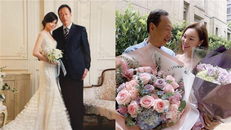 郭台銘結婚13週年 曾馨瑩閃照連發