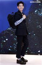 林柏宏出席PRADA 2021秋冬男女裝系列媒體發表會。(記者邱榮吉/攝影)
