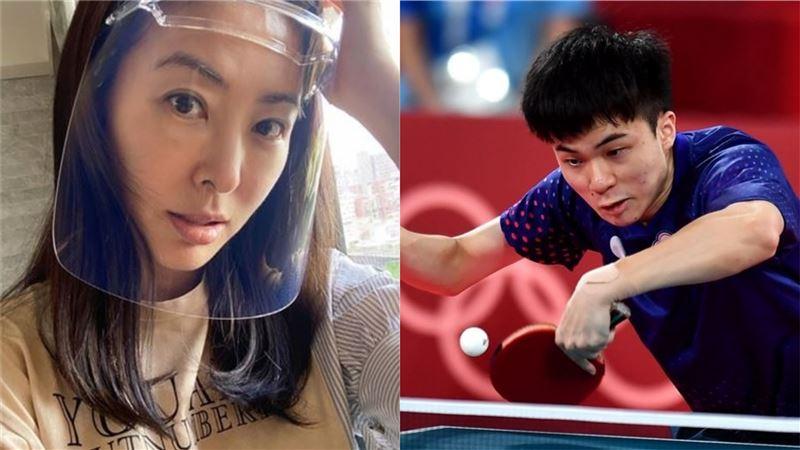 女兒和林昀儒比過桌球?賈永婕傻眼了