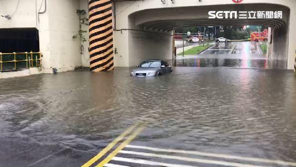 雨彈炸南部!高雄台南急發布淹水警戒